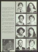 1982 Burlington City High School Yearbook Page 50 & 51