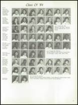 1982 Burlington City High School Yearbook Page 82 & 83