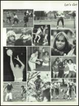 1982 Burlington City High School Yearbook Page 92 & 93