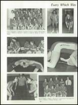 1982 Burlington City High School Yearbook Page 108 & 109