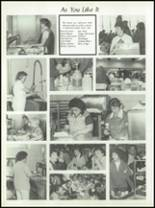 1982 Burlington City High School Yearbook Page 126 & 127