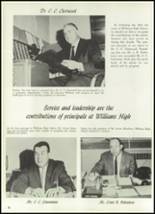 1961 Williams High School Yearbook Page 22 & 23