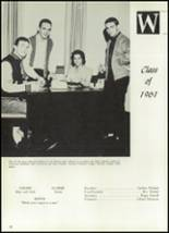 1961 Williams High School Yearbook Page 36 & 37