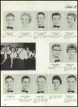 1961 Williams High School Yearbook Page 50 & 51