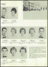1961 Williams High School Yearbook Page 56 & 57