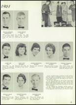 1961 Williams High School Yearbook Page 62 & 63