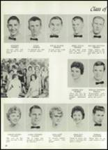 1961 Williams High School Yearbook Page 66 & 67