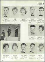 1961 Williams High School Yearbook Page 68 & 69