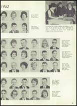 1961 Williams High School Yearbook Page 92 & 93