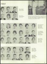 1961 Williams High School Yearbook Page 100 & 101