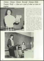 1961 Williams High School Yearbook Page 114 & 115