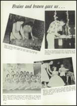 1961 Williams High School Yearbook Page 128 & 129