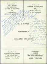 1961 Williams High School Yearbook Page 208 & 209