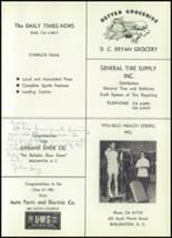 1961 Williams High School Yearbook Page 210 & 211