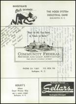 1961 Williams High School Yearbook Page 214 & 215