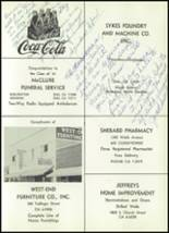 1961 Williams High School Yearbook Page 216 & 217
