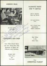1961 Williams High School Yearbook Page 220 & 221