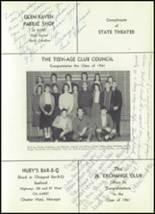 1961 Williams High School Yearbook Page 224 & 225