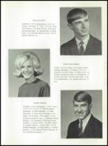 1969 Stratton High School Yearbook Page 16 & 17
