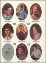 1982 Boone High School Yearbook Page 54 & 55