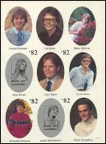 1982 Boone High School Yearbook Page 58 & 59
