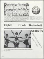 1982 Boone High School Yearbook Page 86 & 87