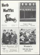 1982 Boone High School Yearbook Page 156 & 157