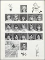 1982 Boone High School Yearbook Page 184 & 185