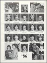 1982 Boone High School Yearbook Page 186 & 187