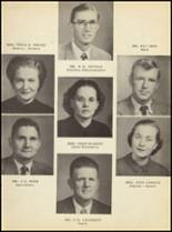1951 Clyde High School Yearbook Page 16 & 17