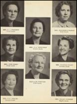 1951 Clyde High School Yearbook Page 18 & 19