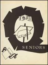 1951 Clyde High School Yearbook Page 32 & 33