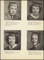 1951 Clyde High School Yearbook Page 36 & 37