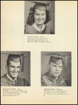 1951 Clyde High School Yearbook Page 40 & 41