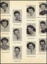 1951 Clyde High School Yearbook Page 52 & 53