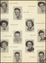 1951 Clyde High School Yearbook Page 56 & 57