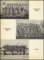 1951 Clyde High School Yearbook Page 72 & 73