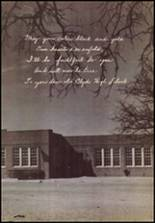 1951 Clyde High School Yearbook Page 108 & 109