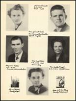 1950 Clyde High School Yearbook Page 12 & 13