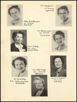 1950 Clyde High School Yearbook Page 14 & 15
