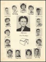 1950 Clyde High School Yearbook Page 16 & 17