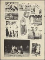 1950 Clyde High School Yearbook Page 44 & 45