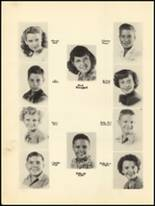 1950 Clyde High School Yearbook Page 54 & 55