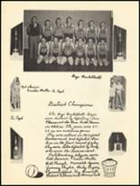 1950 Clyde High School Yearbook Page 68 & 69