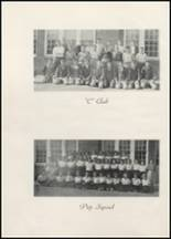 1945 Clyde High School Yearbook Page 54 & 55