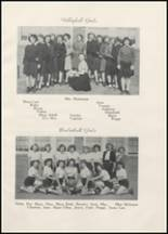 1945 Clyde High School Yearbook Page 56 & 57