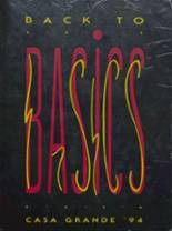 1994 Yearbook Casa Grande Union High School