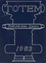 1983 Yearbook Portland High School