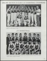1987 Stillwater High School Yearbook Page 108 & 109