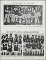 1987 Stillwater High School Yearbook Page 116 & 117